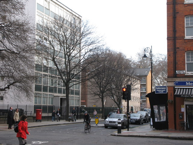 Tavistock Place / Hunter Street, WC1