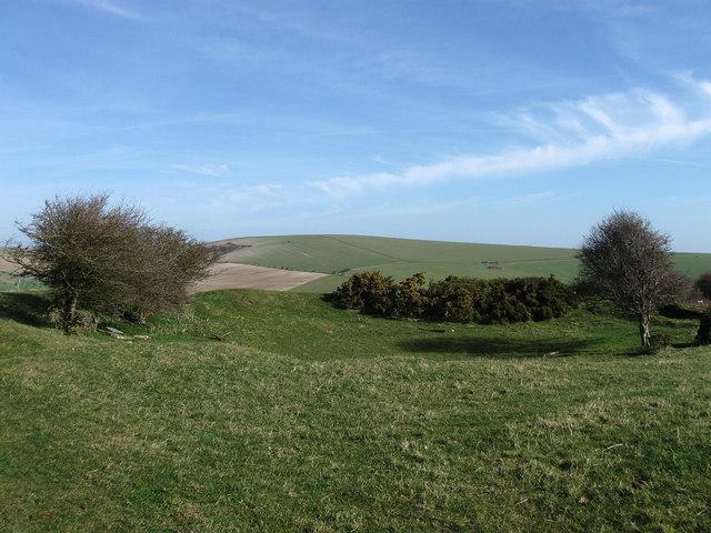 Tumulus near Balsdean