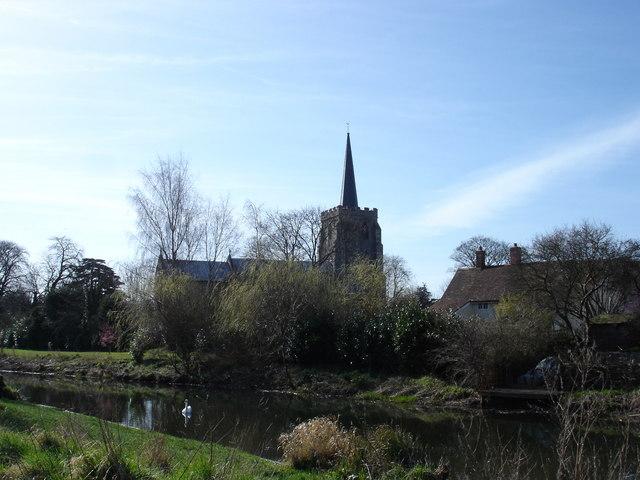 River Gipping at Bramford