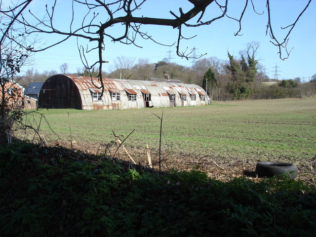 Old barn, Paper Mill Lane