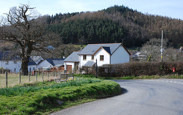 The southeast side of Talybont