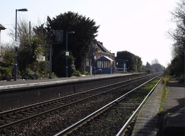 Trimley railway station