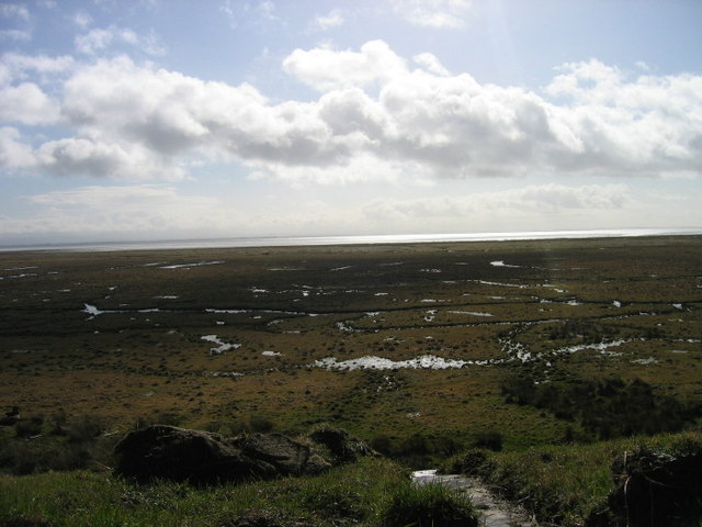 Eastpark Merse and The Solway from Saltcot Merse Observatory, Caerlaverock