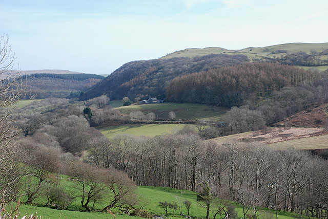 The Leri valley above Talybont