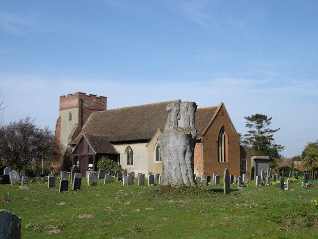 Trimley St Martin church