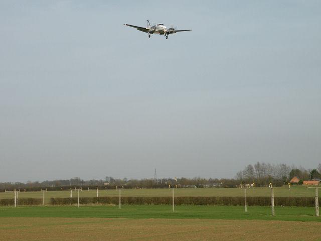 M-TSRI approaching Cambridge Airport