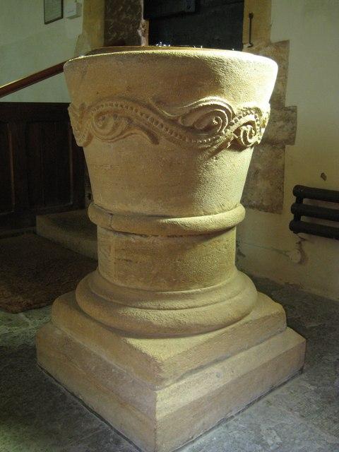 Font -  St Margaret's Middle Chinnock
