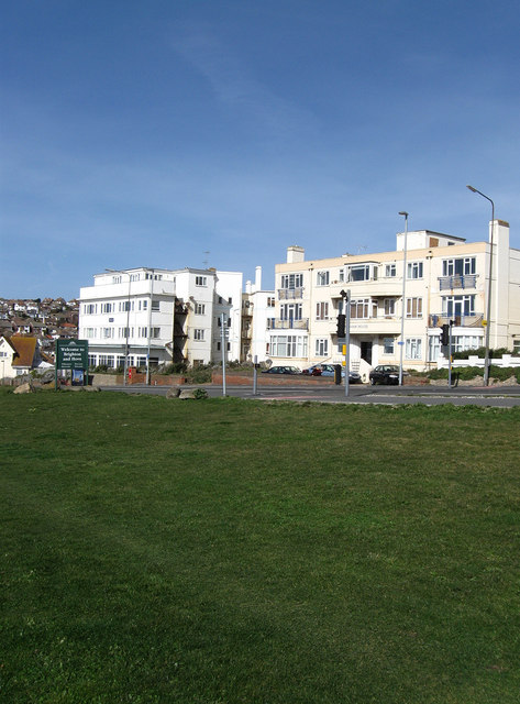 Teynham House and Marine Court, Marine Drive