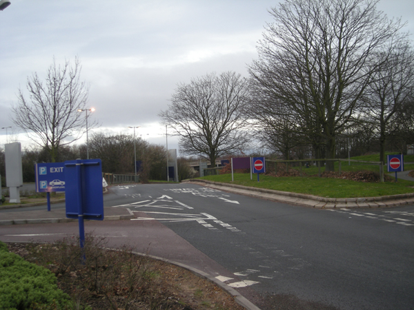 South Bound access to Strensham Services