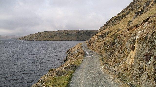 Claerwen Road, Craig Dyfnant