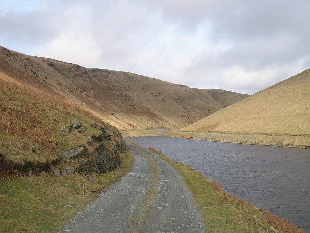 Dyfnant arm, Claerwen Reservoir