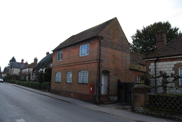 Brick house & integrated Postbox, Selborne