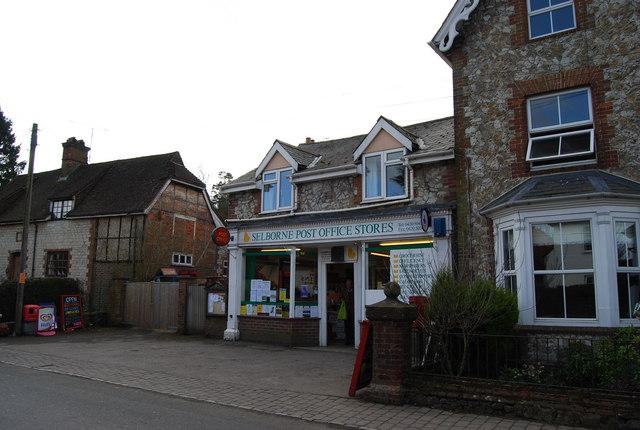 Selborne Post Office, Selborne