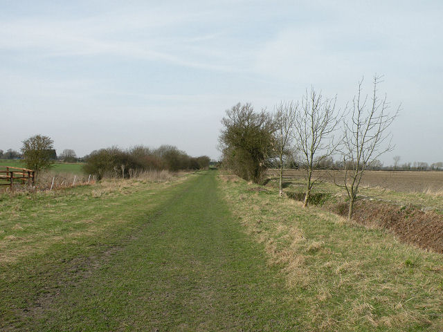 Public Footpath at Grange Farm