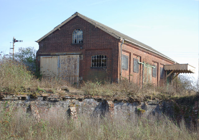 Old goods shed, Thetford