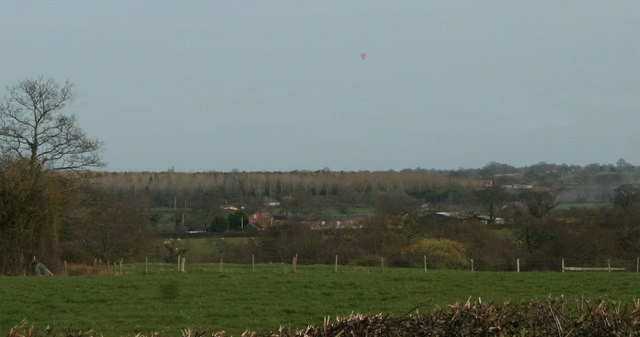 Looking towards Halghton Lodge
