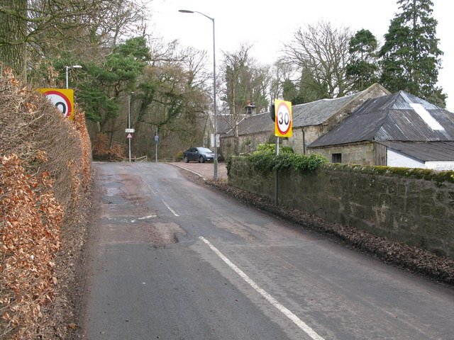 Entering Braidwood from the South
