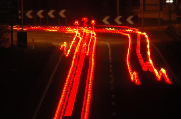 Brakelights on the A5