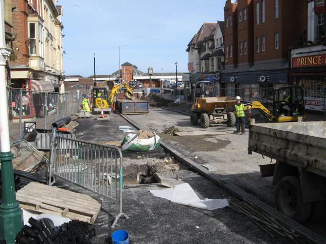 Station Road rebuilding 2