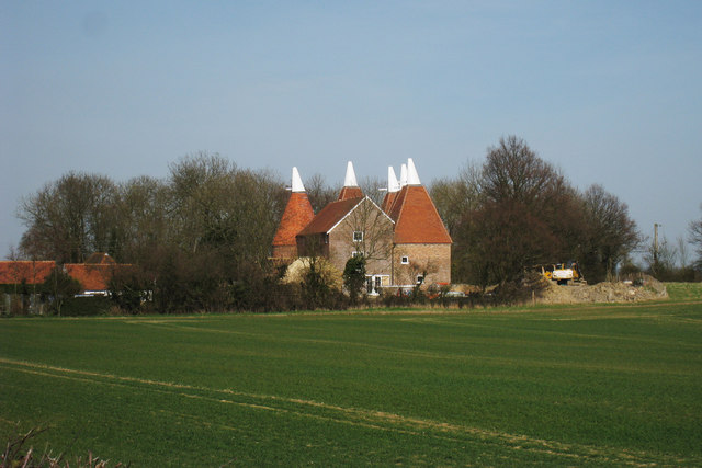Castlemaine Oast House, Maidstone Road, Horsmonden, Kent