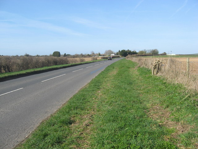The Old Stockbridge Road near Grateley