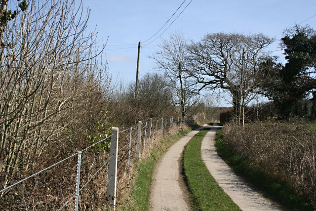Bridleway by the Railway Line