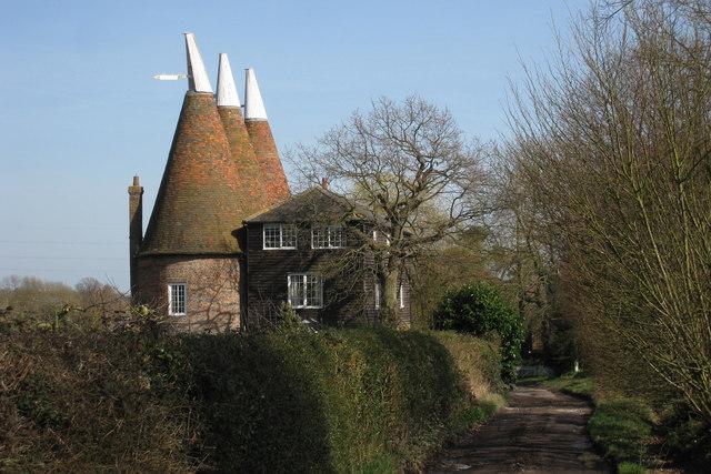 Bainden Oast House, School House Lane, Horsmonden, Kent