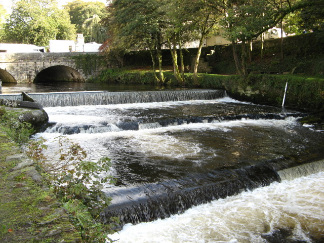 Tavistock: River Tavy Weir