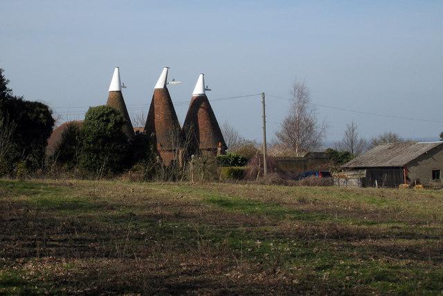 Haymans Hill Oast, Haymans Hill, Horsmonden, Kent