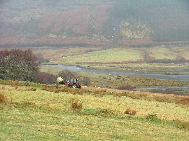 Grazing land at Heatherfield