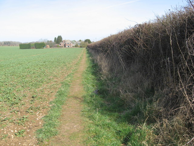 Field edge boundary