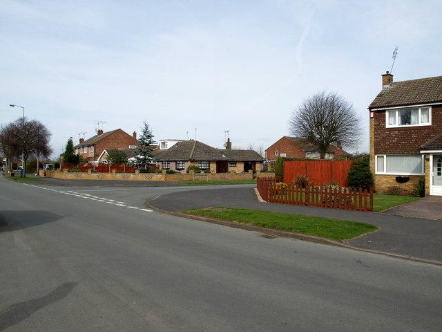 Junction of Porlock Avenue and Torrington Avenue, Weeping Cross