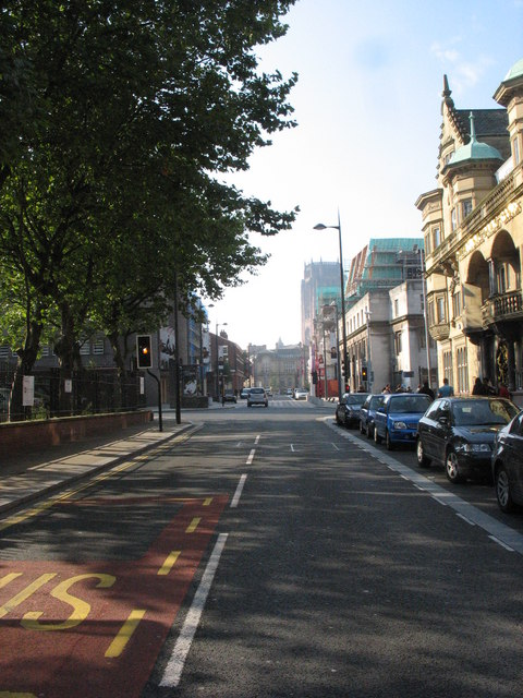 View south along Hope Street