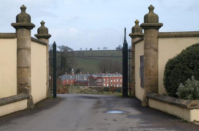 Gateposts, Syon Abbey