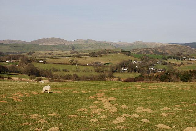 Field southwest of Bontgoch