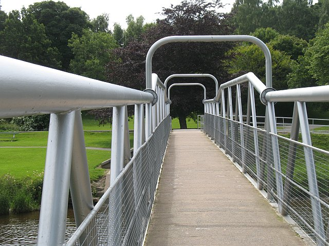 Footbridge, River Tweed
