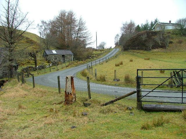 Camustianavaig road