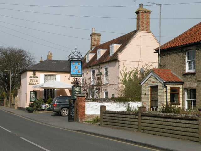 The Five Bells, Burwell