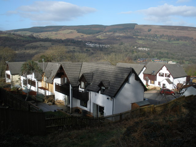 New housing estate, above Fernhill