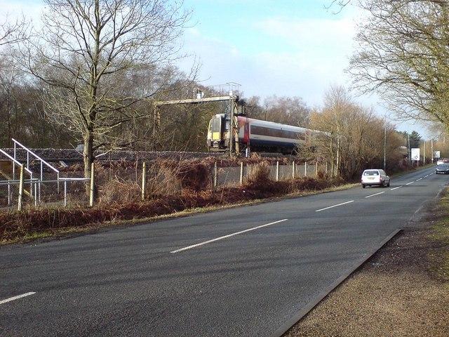 Railway by Fleet Road