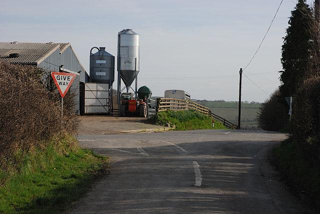 Crossroads at Pen-y-cwm