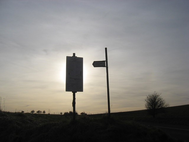 Information Signs on a Restricted Byway
