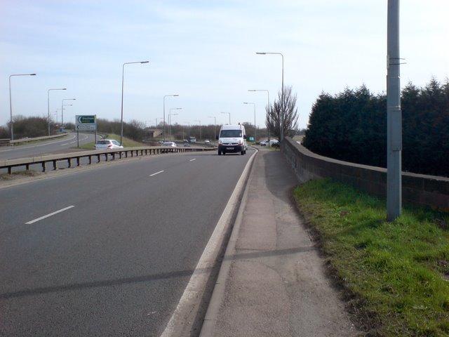 Ryton Bridge on the A45