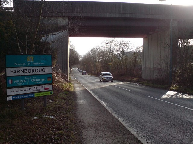 A327 Bridge over Fleet Road