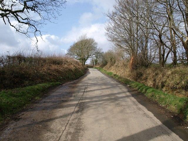 Lane to Wonton Cross