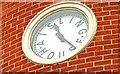 J3371 : Clock, Stranmillis, Belfast by Albert Bridge