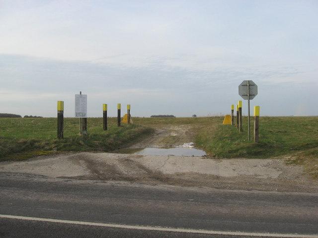 Tank Crossing Point 'O'