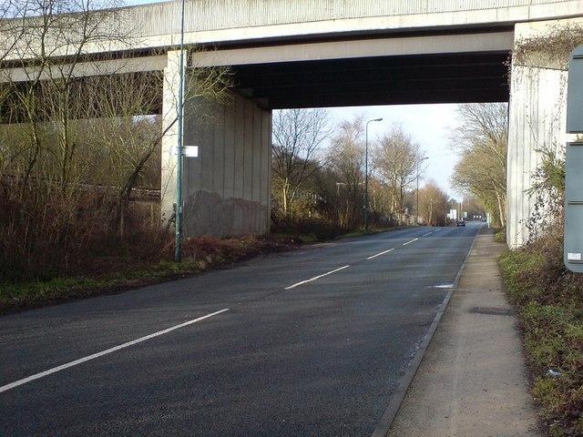 A327 Bridge over Fleet Road