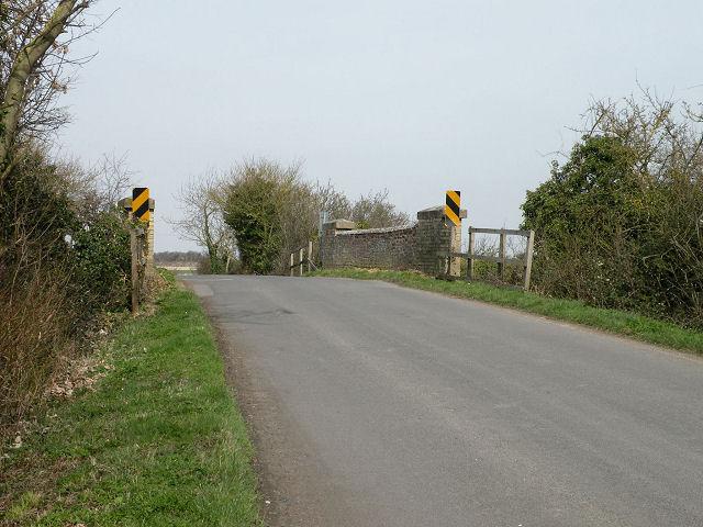 Old railway bridge near Reach