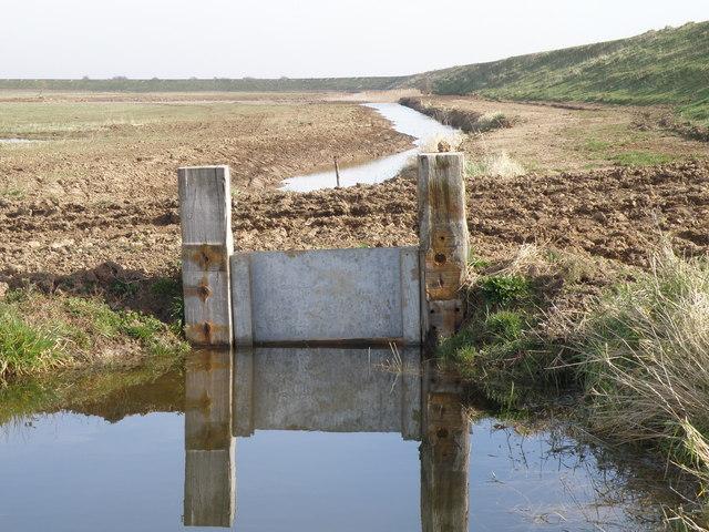 Sluice, Frampton marsh